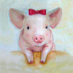 http://fineartamerica.com/featured/pink-pig-nursery-art-junko-van-norman.html