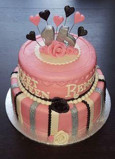 Betere De 24 beste afbeeldingen van Sweet 16 taarten | Sweet 16 taarten MH-11