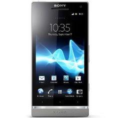 Sony Xperia SL LT26ii Mobile Phone - Silver