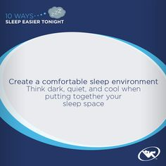 A comfortable sleep environment is key when it comes to getting the sleep your body needs.