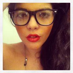 #selfie #sassy #innernerd #fierce #face #glasses #bleudame #mac #freshmorrocan #rubywoo #justme #greekgoddess #annoulicious