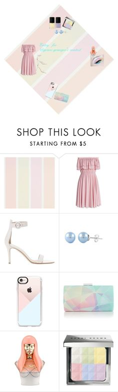 """""""@grace-granger #prettypastelcontest"""" by livvydubs ❤ liked on Polyvore featuring Chicwish, Gianvito Rossi, Casetify, Nicki Minaj and Bobbi Brown Cosmetics"""