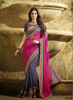 Owing to rich industrial experience in this domain, we are involved in offering best quality of Designer Sarees. These Designer Sarees are available in the market in various colors. Further, we ensure to provide best quality products to customers at most reasonable rates. Designer Sarees are elegant in design.
