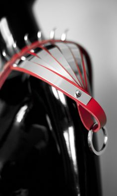 """LALOUX for Valentine's Day!  """"Black heart & Red leather"""""""