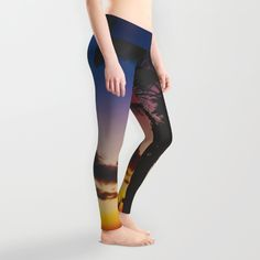 Palm Spring Leggings by Gallery One | Society6