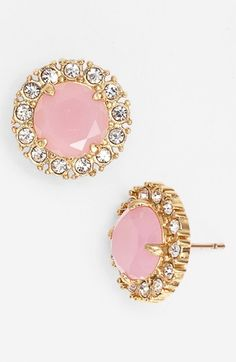 Women's kate spade new york 'secret garden' mixed stone stud earrings from Nordstrom. Saved to Jewelry & Accessories. Jewelry Box, Jewelry Accessories, Fashion Accessories, Tikka Jewelry, Finger, Diamond Are A Girls Best Friend, Girly Things, Kate Spade, Stud Earrings
