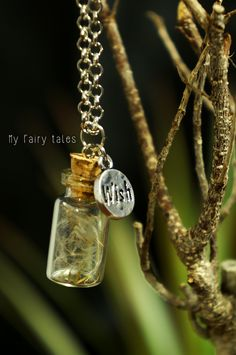 Necklace with glass vial and cap https://www.etsy.com/listing/156771464/necklace-with-glass-vial-and-cap