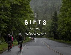 If the cyclist in your life is the type to ride until the sun goes down and not even consider heading back home, Than you have an Adventurer on your hands. Find the perfect gift for your Adventurer in our Holiday Gift Guides Adventure Gifts, Adventure Awaits, J Birds, Beautiful Places To Visit, Adventurer, Travel And Leisure, Adventure Is Out There, Wanderlust Travel, Inspirational Gifts