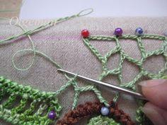 Outstanding crochet irish crochet even edge of uneven net outstanding crochet irish crochet even edge of uneven net master class from olgemini ccuart Images