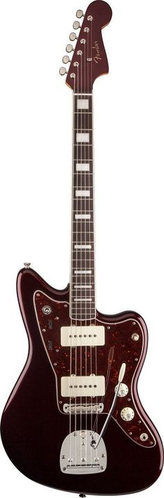 Fender Troy Van Leeuwen Jazzmaster Electric Guitar | Oxblood Finish