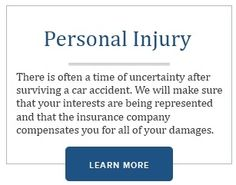 Think we can't handle Personal Injury? Take a look at http://www.charlestoncriminallawyer.org/ and see all that we can handle!