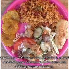For dinner. Puerto Rican Recipes, Puerto Ricans, Potato Salad, Oatmeal, Spanish, Potatoes, Homemade, Dinner, Breakfast