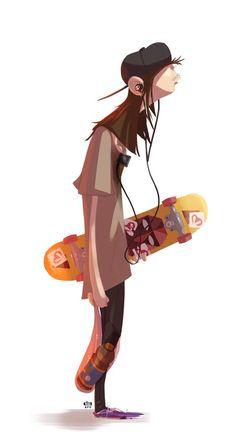 Ilustraciones de personajes por Ido Yehimovitz (4)