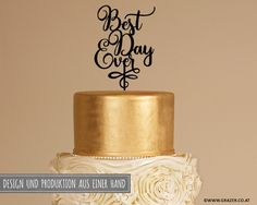 Shops, Best Day Ever, Cake Toppers, Etsy, Design, Home Decor, Hochzeit, Decorations, Tents
