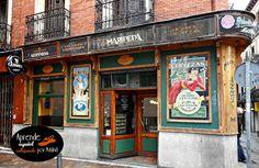 tabernas de madrid Cities, Seville, Tapas, Travelling, Nostalgia, Illustration, Modernism, Shop Fronts, Expensive Homes