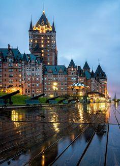 Fairmont Le Chateau Frontenac (Quebec City, PQ) by James Wheeler on 500px ☔️