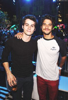 evan peters, dylan o'brien, and teen wolf image