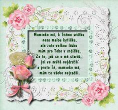 Výsledek obrázku pro básničky pro maminku ke dni matek Valentines Day, School, Frame, Wallpapers, Google, Carnivals, Birthday, Gifts, Valentine's Day Diy