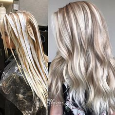 Shop our online store for blonde hair wigs for women.Blonde Wigs Lace Frontal Hair Light Strawberry Blonde Hair From Our Wigs Shops,Buy The Wig Now With Big Discount. Blonde Hair Looks, Brown Blonde Hair, Blonde Wig, Heavy Blonde Highlights, Perfect Blonde Hair, Color Highlights, Hair Color Balayage, Blonde Balayage, Ombre Hair