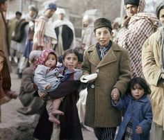 Children in a Kabul street, Afghanistan, November 1961, photograph by Henry Burroughs.