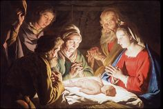 The Adoration of the Shepherds by johnheaton, via Flickr