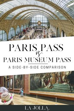 Paris Pass vs. the Paris Museum Pass. A side-by-side comparison of the difference between the two and which one you should go with! La Jolla Mom #Paris #traveltips #parismuseumpass Paris Travel, France Travel, Europe Travel Guide, Travel Tips, Travel Cards, Cruise Travel, Disneyland Paris, La Jolla, Family Travel