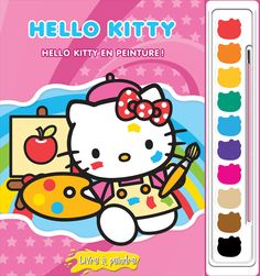 "Hello Kitty: Painting with Hello Kitty Poster Paint Book - Phidal Publishing - Toys ""R"" Us All Toys, Toys R Us, Hello Kitty, Poster Paint, Painted Books, Kids Store, Learning Games, Action Figures, Dolls"