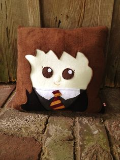 27 Amazing Etsy Finds Your Kid Needs Right Now: Hermione from Harry Potter pillow.