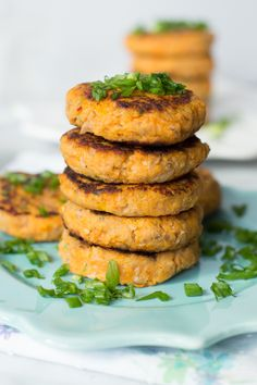 These Sweet Potato Tuna Patties are so easy to make and taste so good. It is gluten-free and It is incredible how they are soft inside and crispy from the outside.- Primavera Kitchen - Primavera Kitchen