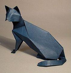 Origami cat.