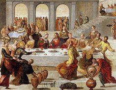 The Wedding Feast at Cana,c.1545   Tintoretto   Isabella Stewart Gardner Museum Boston USA