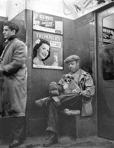 A-Train, Brooklyn, by Joe Schwartz, 1940s