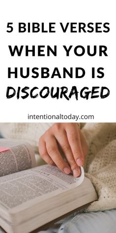 How do we encourage our husbands when they are discouraged? If your husband is discouraged today, here are 5 verses of Scripture to meditate on. Marriage Scripture, Marriage Prayer, Good Marriage, Happy Marriage, Marriage Advice, Bible Verses, Communication In Marriage, Intimacy In Marriage, Advice For Newlyweds