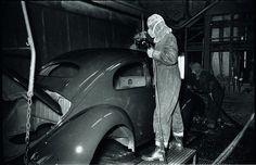 VW typ 1 Wolfsburg Década de 1950