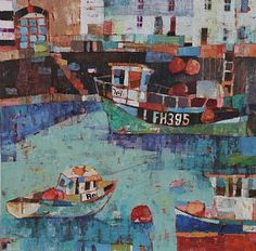 Falmouth Harbour by Sally Anne Fitter