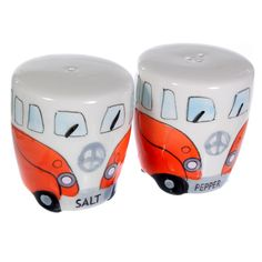 camper van novelties novelty camper van salt pepper cruet set