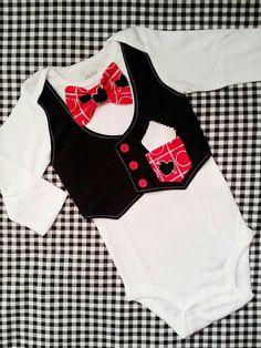 Valentines baby boy vest/bow tie onesie/onsie  by LittleGrayandCo, $28.99
