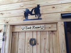 A personal favorite from my Etsy shop https://www.etsy.com/listing/287237629/horse-stall-name-signs-tack-room-sign https://www.facebook.com/Bucks-Barn-Works-1529649240606336/