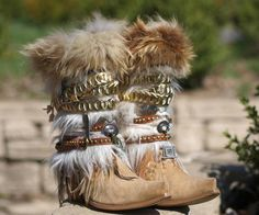 Damen Western Stiefel Armband Silberkette and similar items