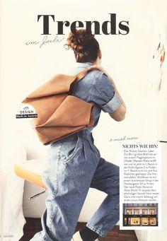 "EVA BLUT in ""Wienerin"" magazine Trends, Woman, Style, Fashion, Fashion Styles, Swag, Moda, Women, Fashion Illustrations"