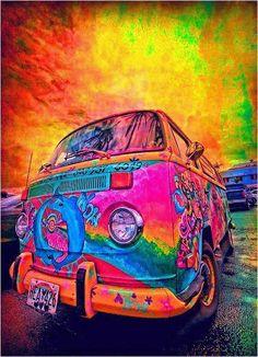 Colorfull Van