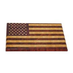 American Flag Butcher Block now featured on Fab.