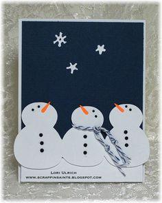 Papercrafts by SaintsRule!: Exploring Cricut ~ Baby It's Cold Outside!