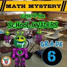 Back to School Math Mystery Activity {GRADE 6} | by Mrs J's Resource Creations