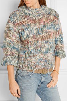 Chloé   Chunky-knit wool sweater   NET-A-PORTER.COM