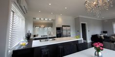 Taubmans Endure in Grey Comfort (Jake & Erin's kitchen from 'The Block')