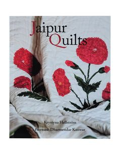 Jaipur Quilts By Krystyna Hellstrom Indian Textiles, Book Quilt, Cotton Velvet, Jaipur, Home Textile, Online Printing, Quilts, Books, Stuff To Buy