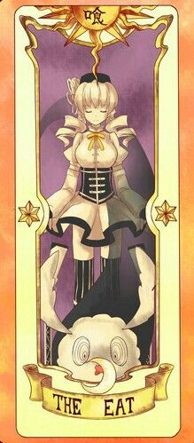 Mami Tomoe as The Eat | Clow Card | Without hunger, there cash be no starvation