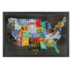 USA Map from Z Gallerie