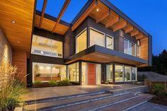 современный типовой дом